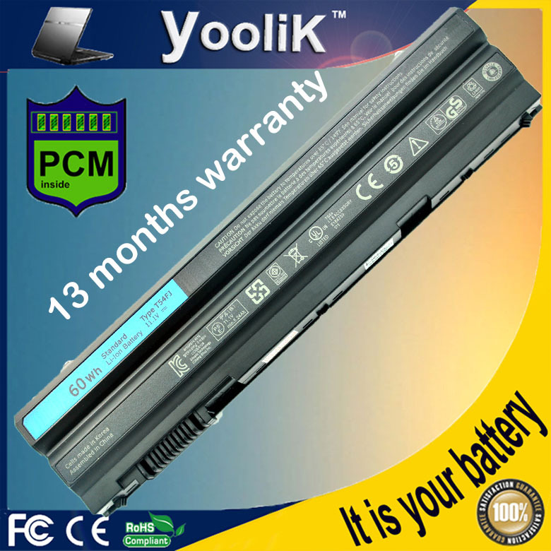 Laptop Battery For Dell Latitude E5420 E5420m E5520 E5530 E6430 E6520 E5430 E5520m E6420 E6530 E6440 For Inspiron 14R 15R цены онлайн