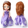 Hot Sale 33cm Princess Sofia Doll Princess Animators Collections Sofia Toys Oringinal Box Boneca Princess Sofia Doll Free Ship