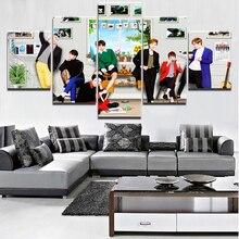 BTS Wall Canvas (5 Pcs)