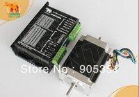 CNC barato! Wantai Nema 23 Stepper Motor Dual Shaft 57BYGH633B $ number oz-in + Conductor DQ542MA 4.2A 50 V 125 Micro CNC Plasma Bordado