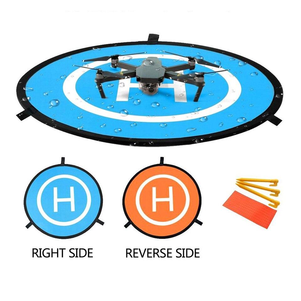 55 cm Drone impermeable plegable Landing Pad para DJI Mavic 2 Pro/Zoom, Tello, aire, mavic Pro, Spark