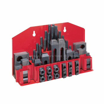Milling Machine Clamping Set 58pcs Mill Clamp Kit Machine Tool Vice Milling Machine Accessories Set M12 metex milling machine clamping set m12 58pce mill clamp kit vice