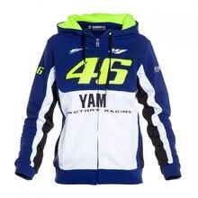 Бесплатная доставка 2016 gp Валентино Росси VR46 M1 Factory Racing команды Moto GP, пригодный для Yamaha Взрослых Толстовка Спорт Футболка куртки
