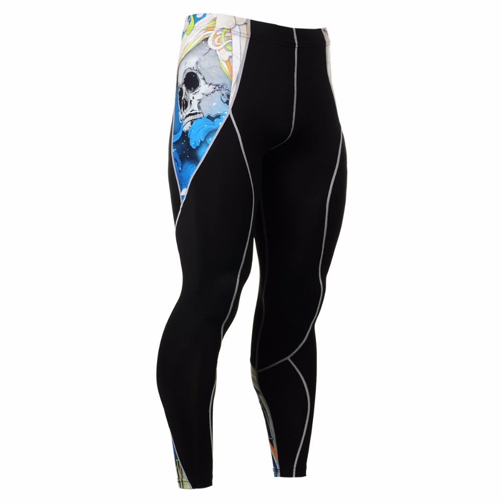 Mens Running Suit Compression Shirts&Tights Set Training Sportsman Wear Workout Fitness Yoga Clothing Set CPD/P2L-B19B
