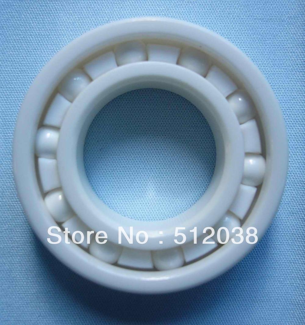6209 ZrO2  (Zirconium Oxide)  Full Ceramic 45 x 85 x 19 mm Deep Groove Radial Ball Bearing