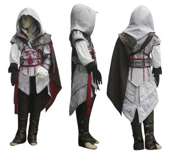 Boys girls kids Halloween Costume Anime Athemis Assassin's Creed II Cosplay  Costume Assassins Creed Ezio Costume clothes sets-in Boys Costumes from  Novelty ...