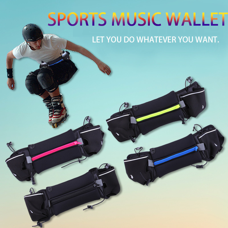 Provided Men Outdoor Jogging Runnning Waist Bag Women Sport Waist Pack With Kettle Belt Gym Fitness Running Belt Bag Mobile Phone Bags High Quality Relojes Y Joyas