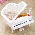 Креативная танцевальная музыкальная шкатулка для фортепиано  элегантный орнамент для девочки  для домашнего офиса  рабочего стола  изыскан...