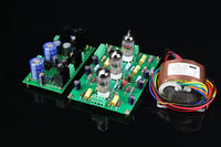 ZEROZONE Assembled E834 RIAA MM Tube phono amp + Power supply board + transformer L5 37