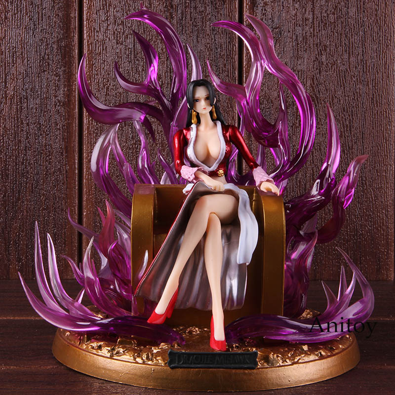 Hot Toys Anime One Piece Figure Boa Hancock Arrogance Sitting Posture Ver. PVC Action Collectible Model ToyHot Toys Anime One Piece Figure Boa Hancock Arrogance Sitting Posture Ver. PVC Action Collectible Model Toy