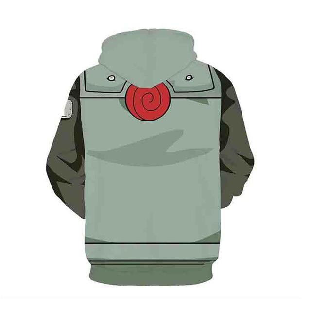 Naruto Sweatshirts Kakashi 3D Hoodies