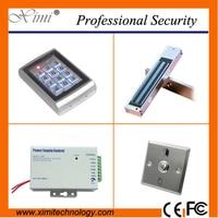 Metal Face Waterproof 125khz RFID Card Access Control Standalone 500 Figerprint User Keyboard Access Control