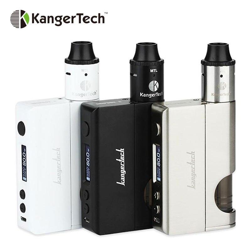 New Arrival Kangertech 80w Dripbox 2 TC Starter Kit Subdrip 2 RBA and Dripbox 2 Mod Temp Control with Two Post Deck e cigarette