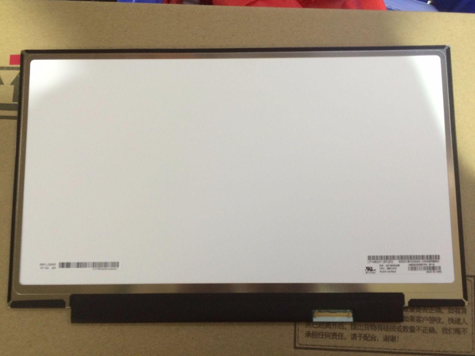 14.0LED LCD Screen Display LP140QH1 SPE3 for Lenovo Thinkpad X1 Carbon 2017 QHD
