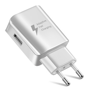 Image 4 - USB Phone Charger EU US type Fast Charger QC2.0 with Free charg Cables compatible for iphone samsung huawei xiaommi wall Charger