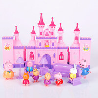 Peppa Pig brinquedos PVC Action Figures toys Series of Amusement park Toys Family Member peppa pig Toy Baby Kid Gift