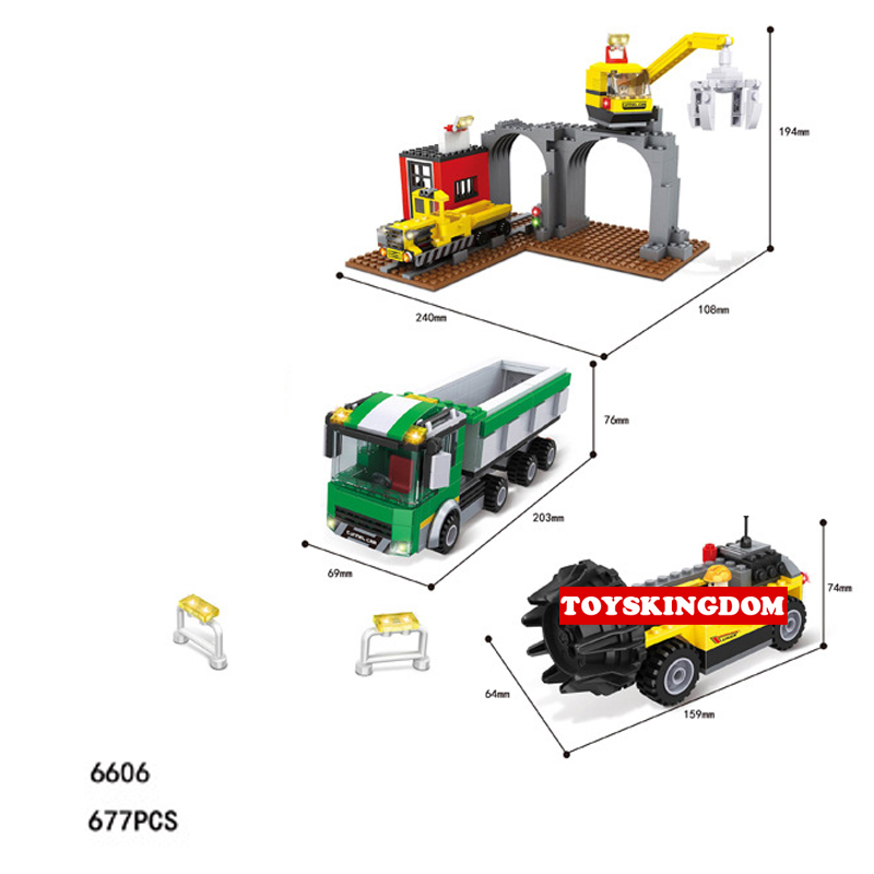 Hot city engineering Mine hole excavation building block worker Miner figures Digging machine truck bricks toys for boys gifts hot city series aviation private aircraft lepins building block crew passenger figures airplane cars bricks toys for kids gifts