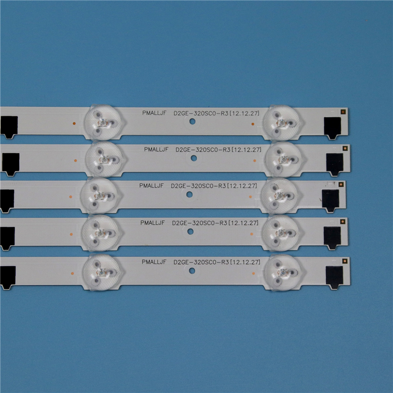 Image 3 - 9 лампы светодиодный Подсветка полосы для samsung UA32F5000AR UA32F5100AR UA32F5300AR UA32F5500AR UA32F6100AR набор палок Телевизор со светодиодом на ремнях