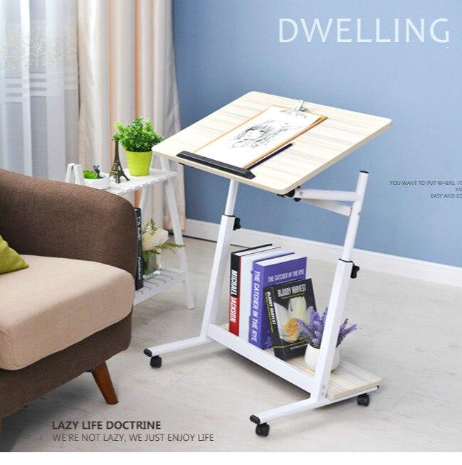High quality laptop desk sidebed lazy table learning desk все цены