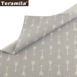 Teramila Curtains Quilts Fabric-Meters Cloth Diy Sewing Arrow-Design Patchwork Home-Textile