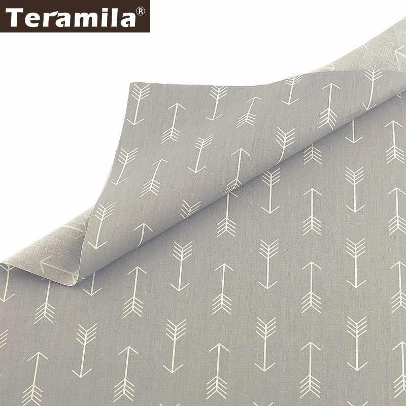 Teramila 100% Cotton Fabric Meters Telas Arrow Design Cloth DIY Sewing Curtains Dress Patchwork Quilts Beedsheet Home Textile