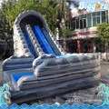 Бесплатный Морские Перевозки Коммерческие Большой Надувной Волна Водная Горка с Бассейном для Детей и Взрослых