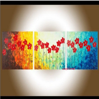 Hand Painted Modern Abstract Picture On Canvas Landscape Oil Painting For Living Room Wall Decor Painting