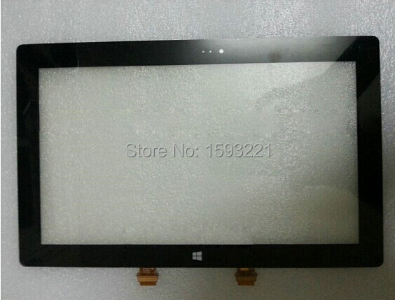 ФОТО Black For Microsoft Surface RT2 Outter Digitizer Touch Screen Glass Panel Lens Repair Replacement Free Shipping