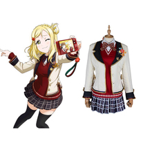 Love Live Sunshine Cosplay Mari Ohara Cosplay Costumes Uniform Outfit Anime Cosplay Costume Halloween Carnival Cosplay Costume new lovelive sunshine cosplay costumes ohara mari swimwear cosplay costumes halloween carnival party women cosplay costumes