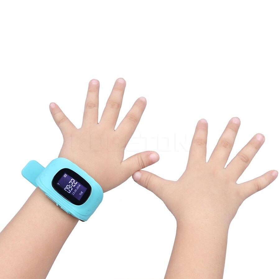 imágenes para Q50 ruso Teléfono Inteligente GPS Reloj Niños Kid Reloj GSM GPS Localizador Rastreador Anti-perdida Smartwatch Niño Guardia Para Hijo bebé
