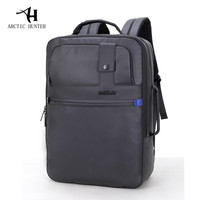 ARCTIC HUNTER Business Travel Laptop Backpack Men Black Fashion Backpacks Waterproof School Bags For Men Women