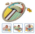 Baby early education  measuring height blanket game blanket digital waterproof pad with security mirror ringing paper music