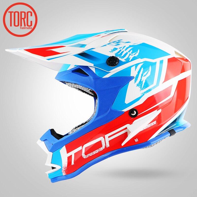 TORC off road brand Helmet adult moto helmet casco motorcycle helmet dirty bike racing cross motocross helmets chopper motorcyle