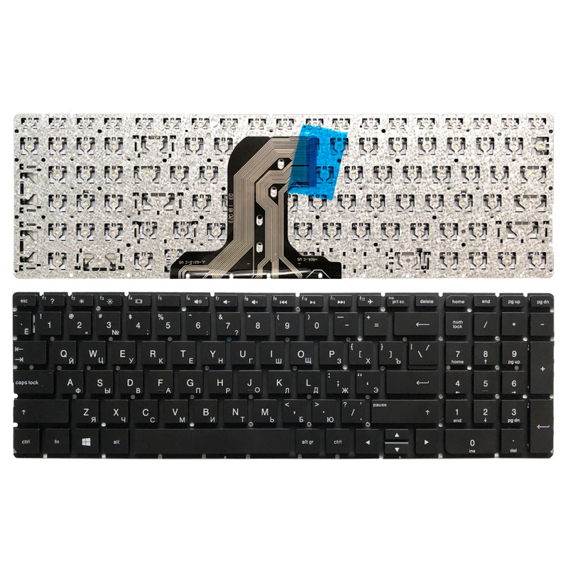 New RU Laptop Keyboard For HP TPN-C126 TPN-C125 HQ-TRE No Frame Teclado Russian Keyboard