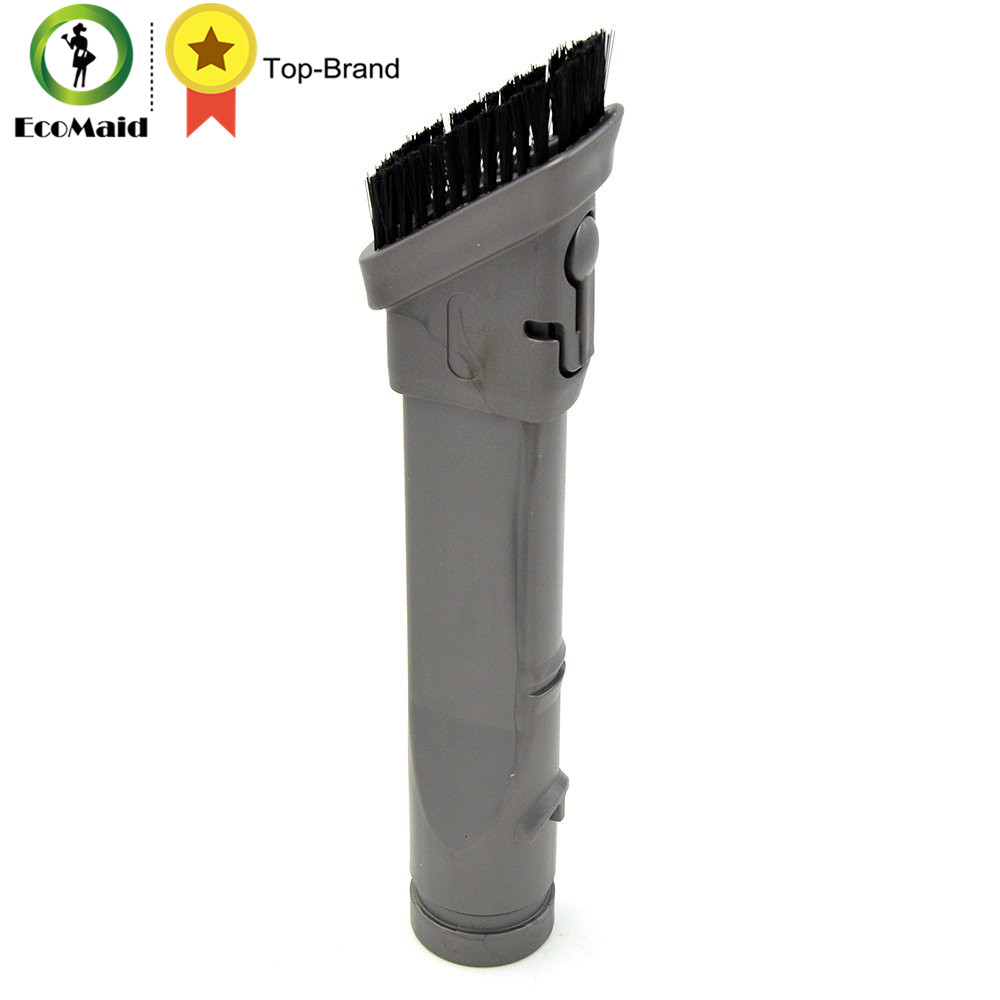 1Pc Vacuum Attachment Dust Brush For Dyson Vacuum Cleaner DC35 DC45 DC58 DC59 DC62 V6 Flexible Crevice Tool Brushes Suction Head new arrival soft dusting brush fit for dyson dc35 dc45 dc58 dc59 dc62 v6 handheld vacuum cleaner with 32mm 1 1 4in adapter