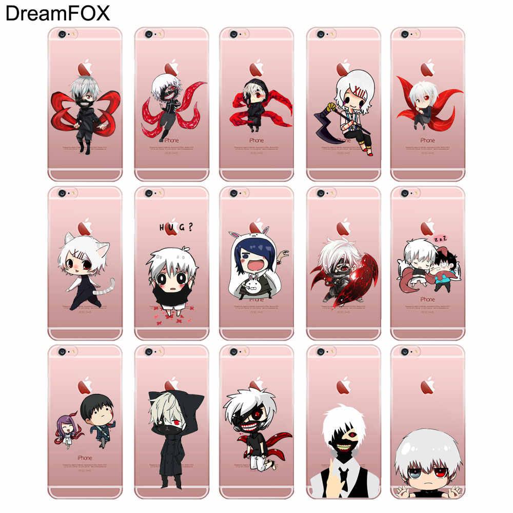 DREAMFOX M159 аниме, Токио, вампиры Мягкий ТПУ силиконовый чехол-накладка для Apple IPhone X XR XS Max 8, 7, 6, 6 S, Plus, 5, 5S SE 5C 4 4S