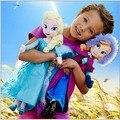 2016 recién llegado de Aliexpress vendedor superior frozene niñas bebé de la felpa muñecas de juguete 40 cm elas 30 cm olaf anna 20 cm incluso Navidad regalos