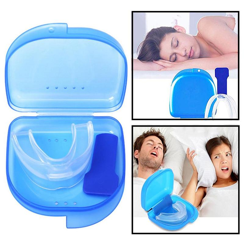 Anti Snoring Bruxism Transparent Guard Gum Shield Mouth Trays Mouth Guard Stop Teeth Grinding For Bruxism Teeth Grinding