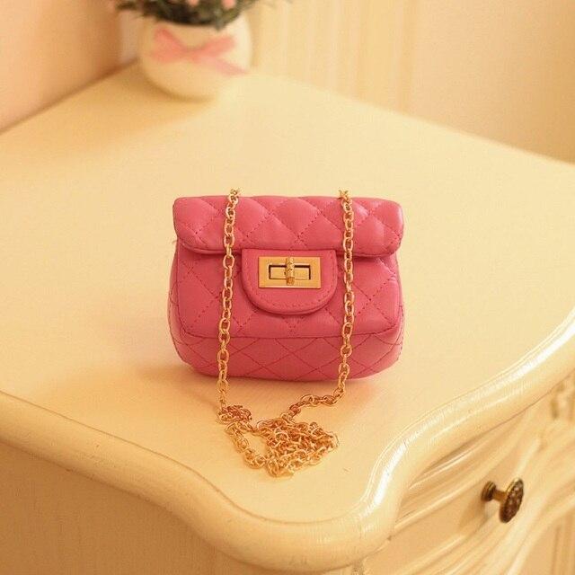 PU leather princess children coin change purse wallet mini handbag cross-body money bag carteira feminina small pouch for girls