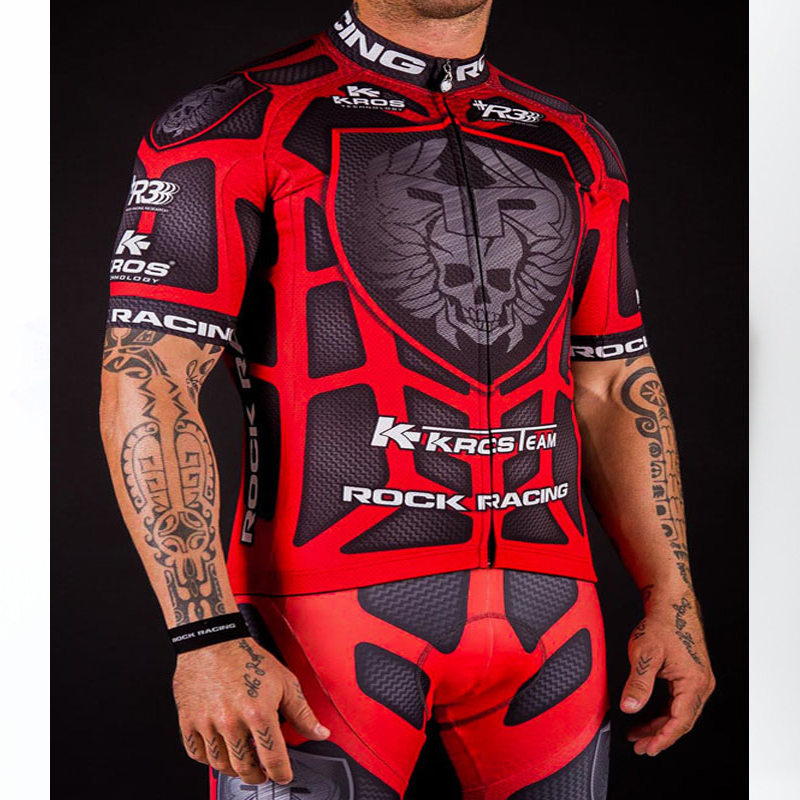 High Quality Pro Team Rock Racing Bike Cycling Clothing Men Summer Ropa Ciclismo Breathable Short Sleeve Cycling Jerseys sets cycling clothing summer men cycling jerseys bike clothing bicycle short ropa ciclismo breathable sportwear bike clothes page 4