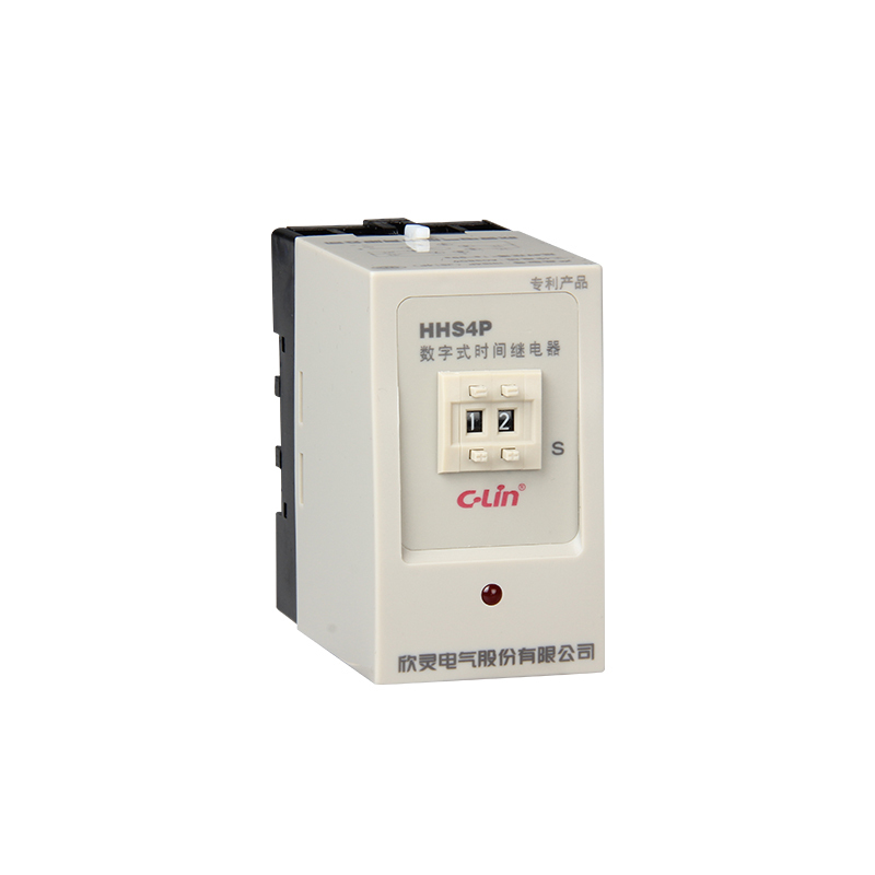 HHS4P Time Relay 0.99S 9.9S 99S 990S 99M Two Position Numeralization With JS14P free shipping js14p 1 99s second dpdt 2no 2nc programmable time delay relay ac 220v