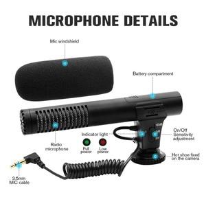 Image 3 - MIC 02/MIC 03/MIC 05/MIC 06/MIC 07 3.5 مللي متر الهاتف المحمول/كاميرا ميكروفون تسجيل الفيديو سوبر القلب مشيرا ستيريو Mic 2020