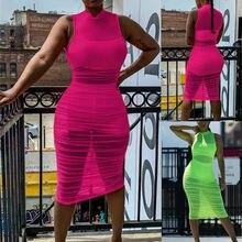 2019 New Fashion Sexy Women Summer Beach Dress Swimwear Lace Crochet Bikini Cover Up Mesh Sheer