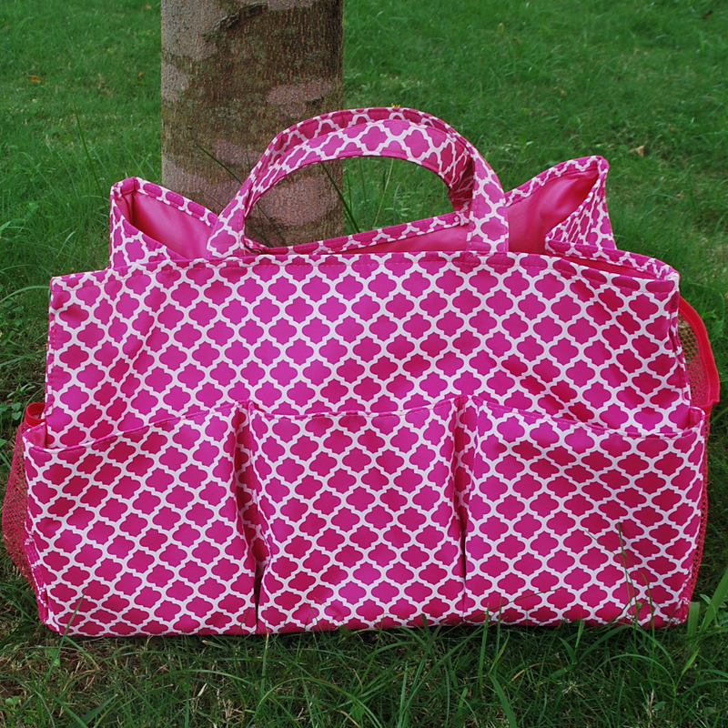 Wholesale Blanks Quatrefoil Polyester Large Garden Tote Utility Tote Bag  Garden Tool Bags In Many Colors DOM103305 In Totes From Luggage U0026 Bags On  ...