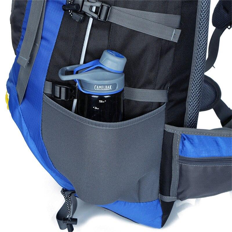 Mochila de senderismo impermeable de 70 L para senderismo, escalada, montañismo, mochila de viaje al aire libre, mochila de senderismo de 5 colores - 5