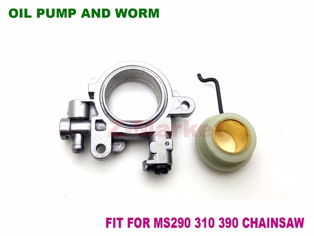 US $19 5 |Oil Pump & Worm 1127 640 3204 for STIHL MS290 MS310 MS311 MS390  029 039 Gasoline Chainsaw Garden ToolsSpare Parts-in Tool Parts from Tools