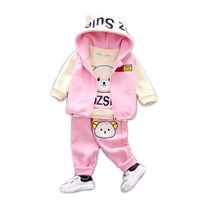 New Autumn And Winter Suit Set Baby Children S Clothing Autumn And Winter Children S Clothing
