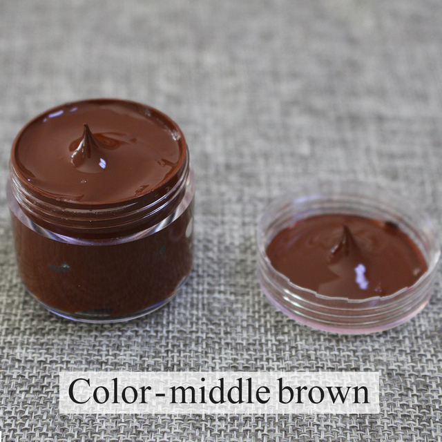 Leather Coloring Paste Middle Brown Bag Sofa Shoe Clothing Repair