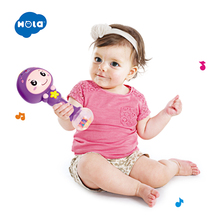 Stack 'n Squirt Bath Fun & Adorable Animal Baby Rattle with Music/Light n light подвес n light 623 03 02