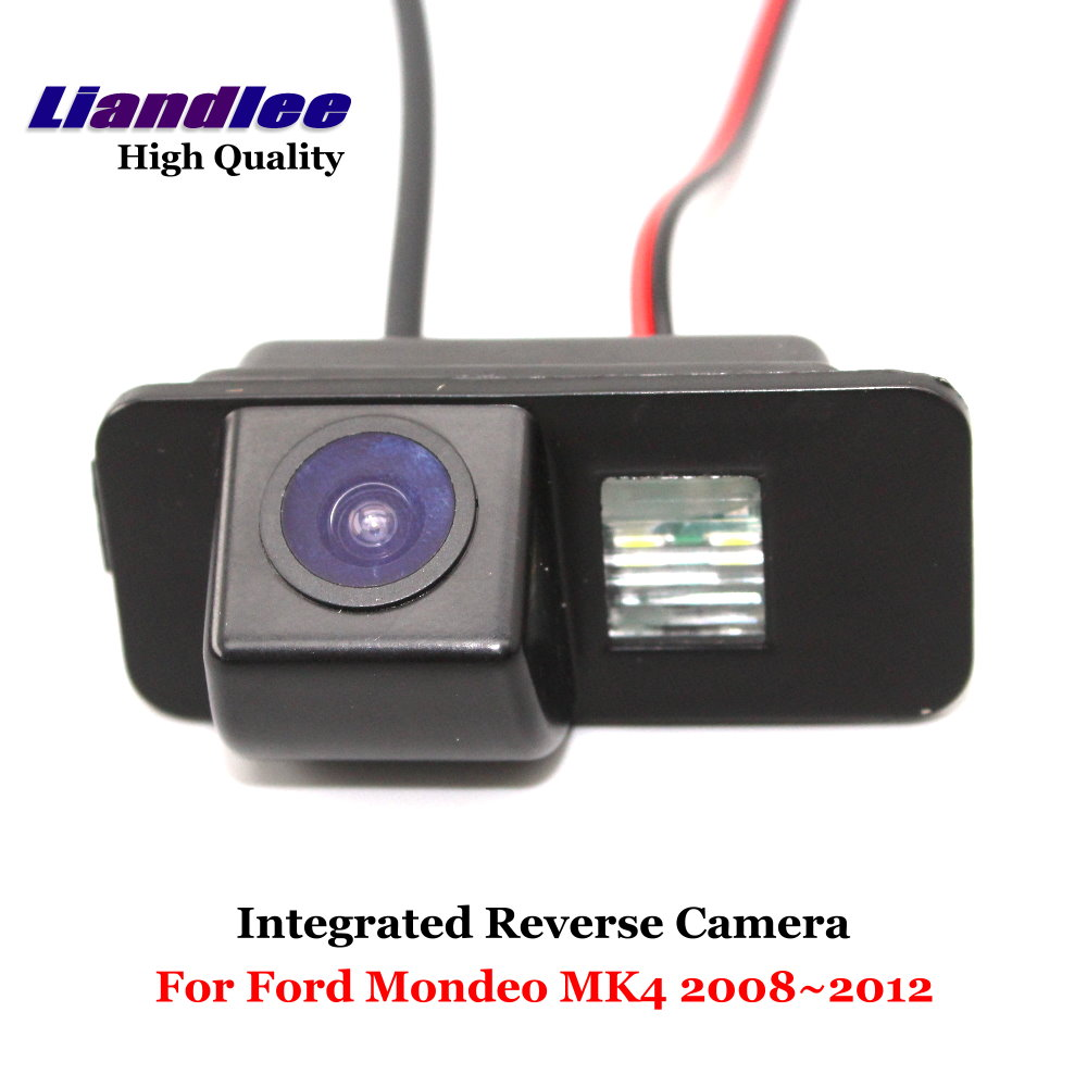 Liandlee Car Rear View Camera For Ford For Mondeo MK4 2008~2012 Rearview Reverse Parking Backup Camera / Integrated SONY HD CCD dynamic trajectory tracking auto backup parking reverse camera rearview rear view reversing parking camera for ford focus 2012